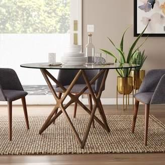 Modern Rustic Interiors Colton Star Dining Table Modern Rustic Interiors Base Color: Dark Walnut