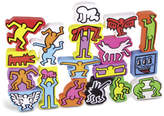 Vilac Keith Haring Stacking Figures