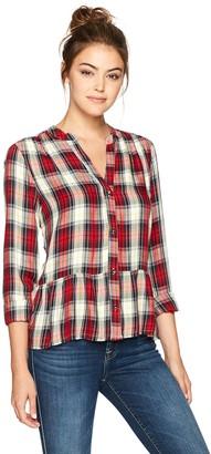 Splendid Women's Edgware Plaid Shirt