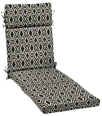 Ebern Designs Trellis Outdoor Chaise Lounge Cushion