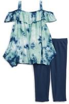 Splendid Girl's Tie Dye Tank & Leggings Set