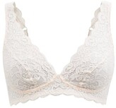 Thumbnail for your product : Hanro Moments Lace Soft-cup Bra - Light Pink