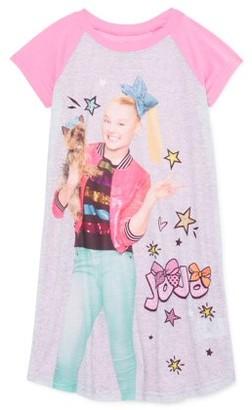 Jojo Siwa Girls 6-12 Short Sleeve Pajama Nightgown