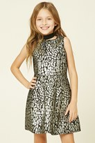 Forever 21 FOREVER 21+ Girls Animal Print Dress (Kids)
