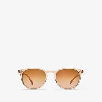 Oliver Peoples Finley Esq. Sun (Blush/Rose Quartz Mirror) Fashion Sunglasses