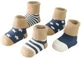 Andyshi Autumn Winter Baby 5 Pack Socks S