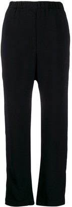 Forte Forte ruched detail cropped trousers