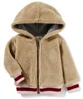 Peek Essentials Peek Hooded Fleece Bomber Jacket