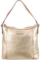 Kate Spade Metallic Leather Shoulder Bag