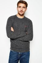 Jack Wills Marlow Merino Donegal Crew Neck Sweater