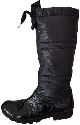Vic Matié Black Cloth Boots