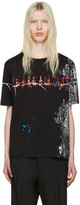 Haider Ackermann Black we Are All Dust T-shirt