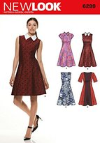 New Look Size A 8 - 10 - 12 - 14 - 16 - 18 - 20 Sewing Pattern 6299 Misses' Dresses, Multi-Colour