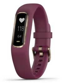 Garmin vivosmart 4 Activity Tracker in Berry and Gold, S/M
