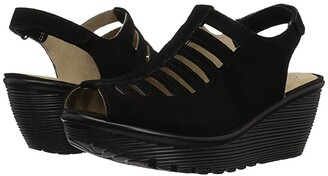Skechers Parallel - Trapezoid (Black) Women's Shoes