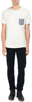 Rag and Bone Basic Pocket Tee - White