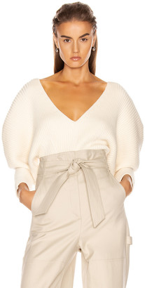 Mara Hoffman Olla Sweater in Cream | FWRD