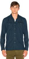 Scotch & Soda Denim Western Shirt
