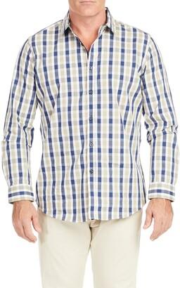 Johnny Bigg Bale Check Button-Up Shirt