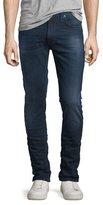 Nudie Jeans Lean Dean Deep Sparkle Skinny-Leg Jeans, Dark Blue