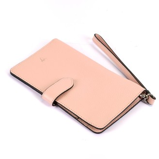 Hiva Atelier Ita Leather Wallet Baby Pink