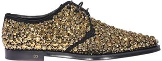 Dolce & Gabbana Embellished Derby Shoes