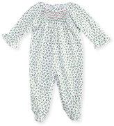 Kissy Kissy Holly N Berries Printed Footie Pajamas, Size 0-9 Months
