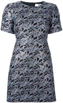 MSGM floral jacquard dress