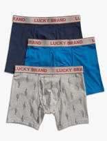 Lucky Brand Brief Solid 3 Pack