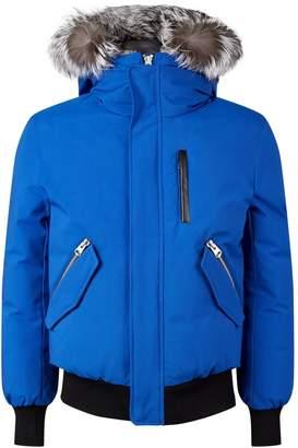 Mackage Fox Hood Bomber Jacket