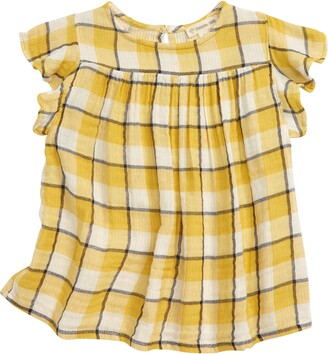 Tucker + Tate Kids' Flutter Check Top