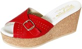Nieves Lavi Florence Red Wedge