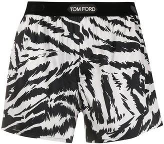 Tom Ford Zebra Print Boxer Shorts