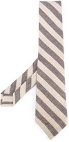 Kiton diagonal stripes tie