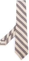Kiton diagonal stripes tie