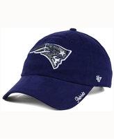 '47 Women's New England Patriots Glitter Logo Clean Up Cap