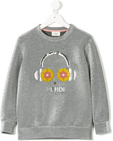 Fendi headphone print sweatshirt
