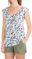 Carve Designs Sanibel T-Shirt - Organic Cotton-TENCEL®, Short Sleeve (For Women)