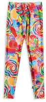 Terez Girl's Dylan's Candy Bar Collage Leggings