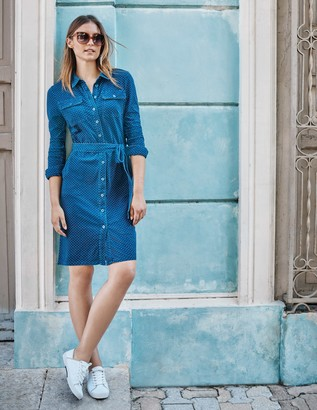 Rowena Jersey Shirt Dress