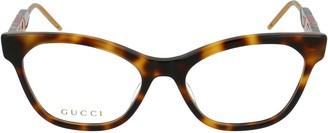 Gucci Monogram Foxy Glasses