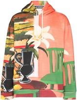 Jacquemus Le Sweat Tableau print hoodie