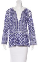 Etoile Isabel Marant Patterned Long Sleeve Top