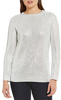 Daniel Cremieux Thea Metallic Sweater