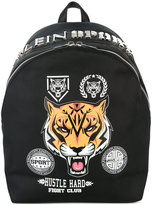 Plein Sport - printed backpack - men - Nylon/Polyester/Polyurethane - One Size