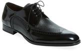 Mezlan Men's Leather Wingtip Derby Shoe