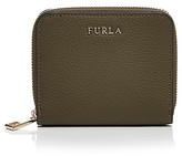 Furla Babylon Zip Around Small Leather Wallet