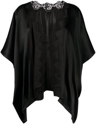 La Perla Lace Inserts Short Kimono