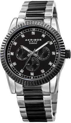 Akribos XXIV Men's Stainless Steel Watch