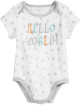 First Impressions Hello World Bodysuit, Baby Boys & Baby Girls (0-24 months), Created for Macy's